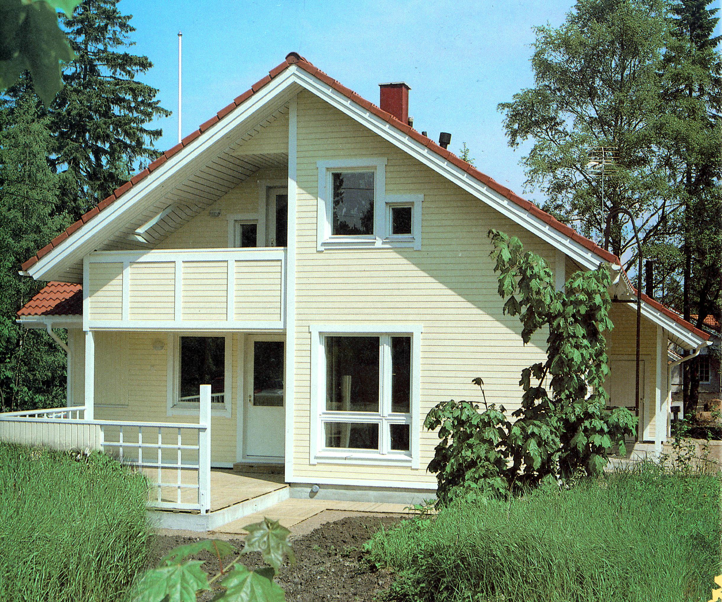 Двухэтажный дом 8х11
