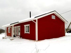 одноэтажный пассивный дом