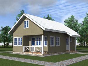 Дом в норвежском стиле