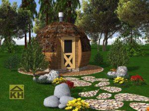 Купольный Гриль домик